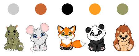 find the colors Stock fotó