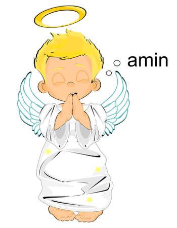 angel sad amen