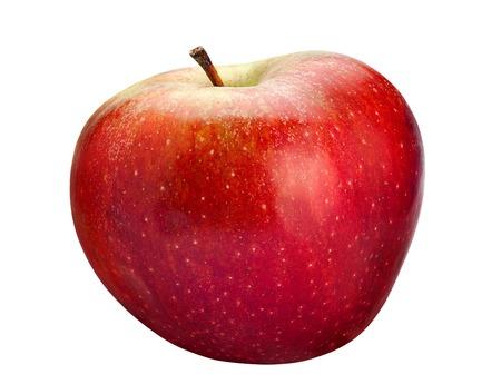 focus stacking: Red apple fruit stacking focus