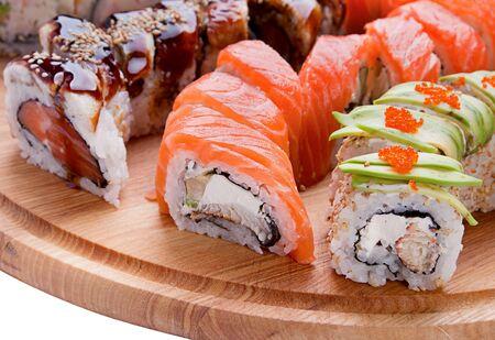 japanesse: Closeup japanesse food on ood table