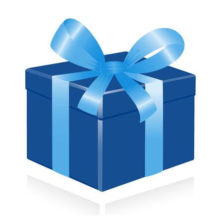 giftbox: Giftbox with ribbon. Vector-Illustration Illustration
