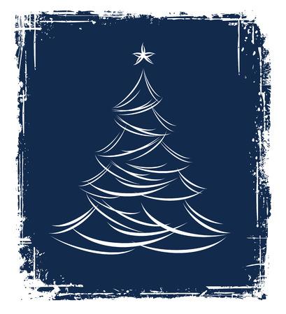 Christmas tree design. Vector-Illustration. Vector