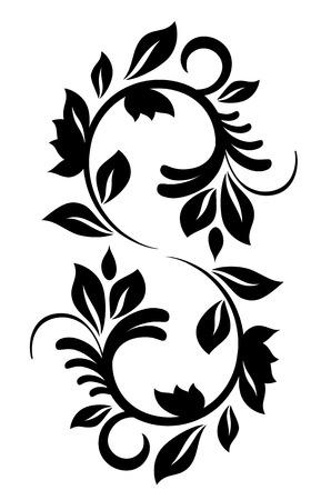 Vintage pattern for design. Vector illustration Vector
