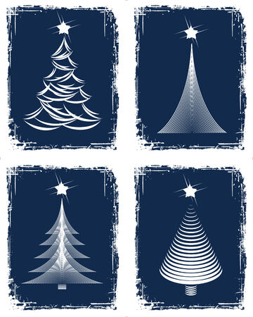 Christmas tree design. Vector-Illustration. Vector