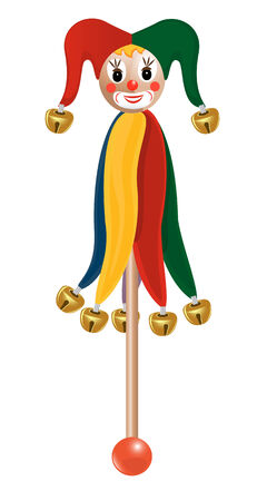 Wooden Marionette. Vector-Illustration Vector