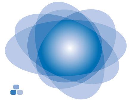 Resumen de transparencia de fondo. Ilustración de vector