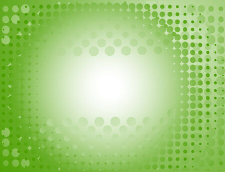 Spotted background in green. Vector-Illustration Vector
