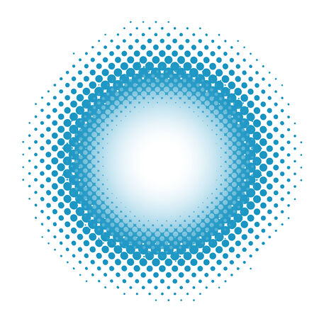 Spotted background in blue. Vector-Illustration Vector