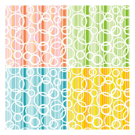 Set of abstract seamless texture. Vector-Illustration Vector