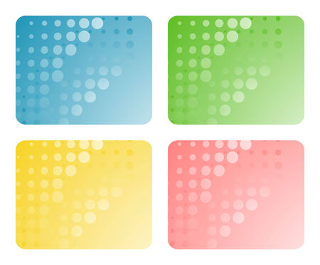 Set of abstract backgrounds. Vector-Illustration Vector