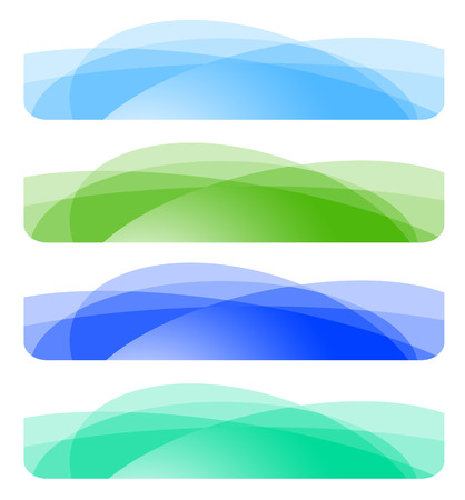 Set of abstract banners. Vector-Illustration Illustration