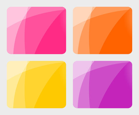 Set of abstract backgrounds. Vector-Illustration Stock Vector - 4795735