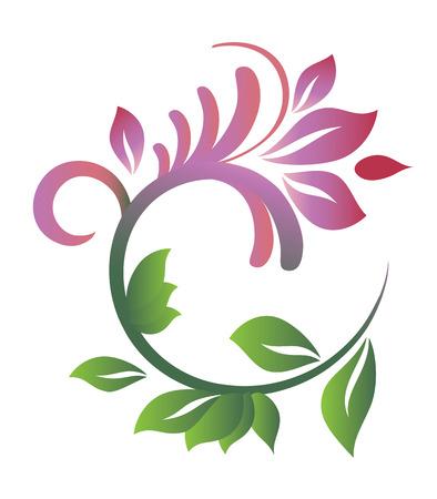 設計のための花パターン。ベクトル イラスト