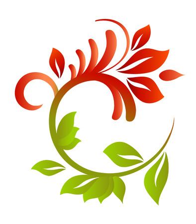 Floral pattern for design. Vector illustration Stock Vector - 5006217
