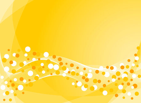 celebratory: Abstract background in yellow. Vector-Illustration