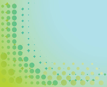 Spotted background in blue and green. Vector-Illustration Vector