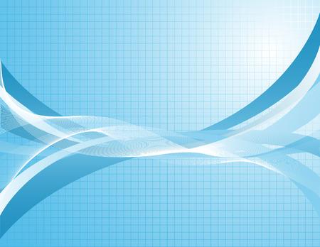 Fondo azul abstracto. Vector-Ilustración. Foto de archivo - 5329755