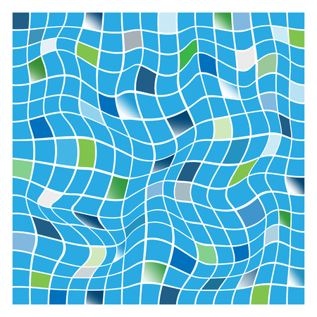 Colorful mosaic background. Vector-Illustration Vector