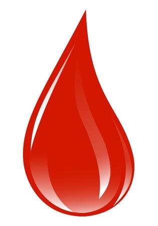 Goccia di sangue.