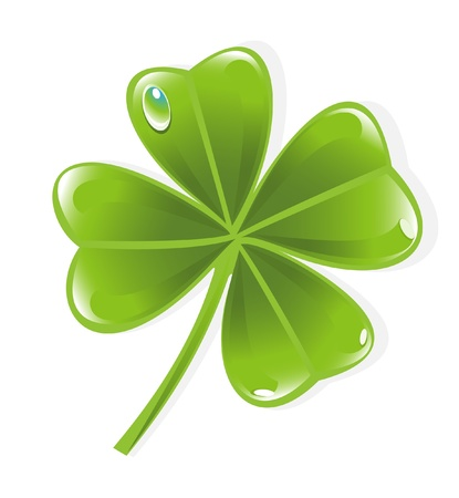 Clover leaf Stock Vector - 12003649