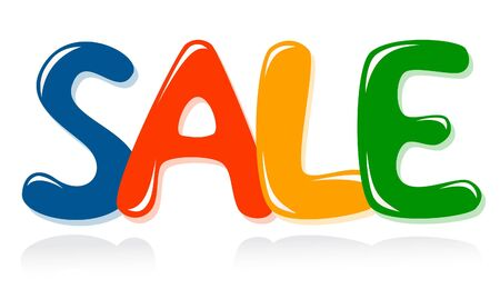 Sale message Stock Vector - 12061192