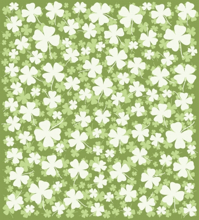 Clover Background  Stock Vector - 12300894