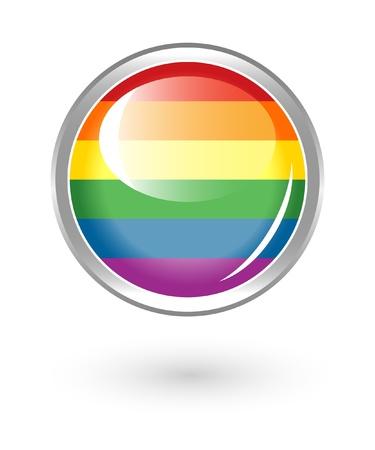 lesbian: Arc-en-bouton