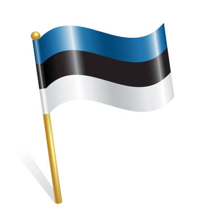 flagstaff: Estonia Country flag