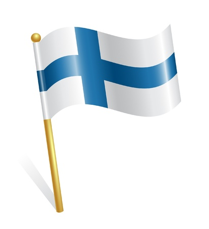 Finland Country flag Vector