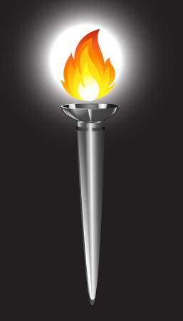 torch flame: Torch