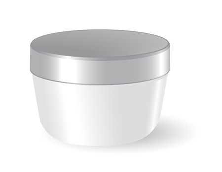 lotion: Blank cosmetic container