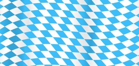 octoberfest: Bandera de Baviera Vectores