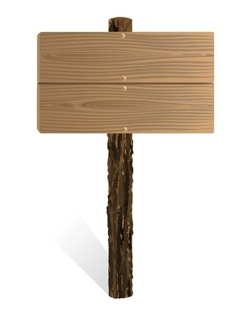 textur: Blank wooden sign