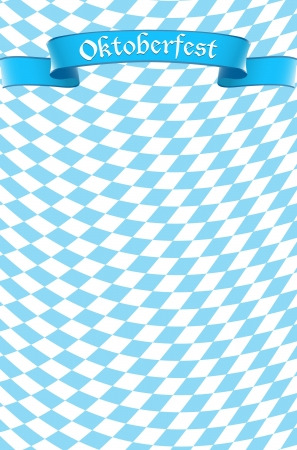 Oktoberfest celebration design background Illustration