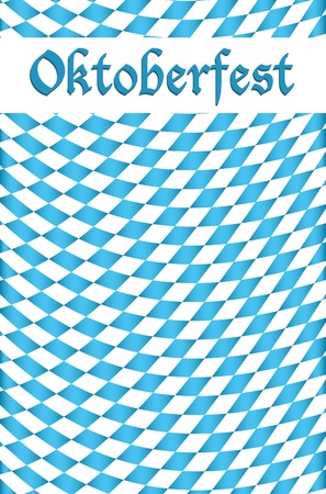 Oktoberfest celebration design background Vector