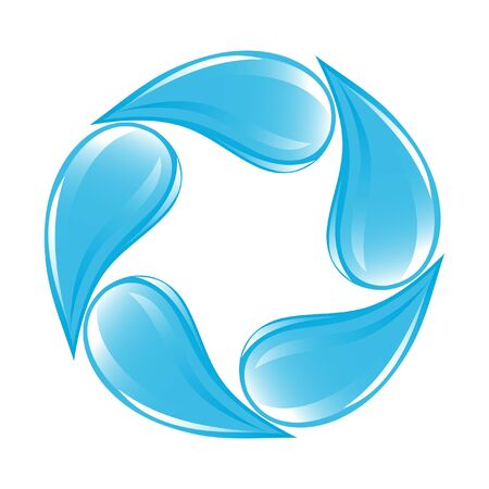 purity: Clear water drops icon