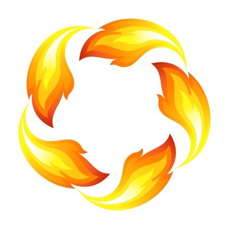 fogatas: Fuego flor