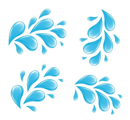Water drops Stock Vector - 15609800