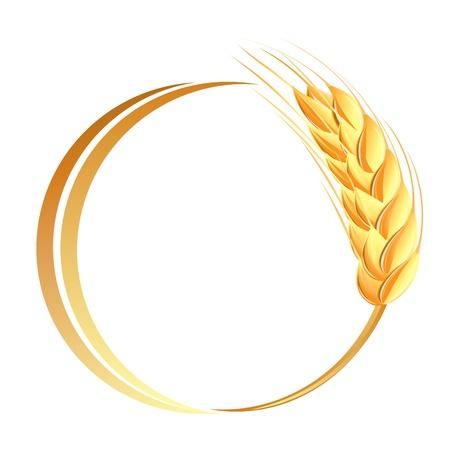 KÅ'osy pszenicy icon Ilustracja