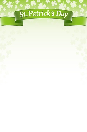 St.Patricks Day design background Vector