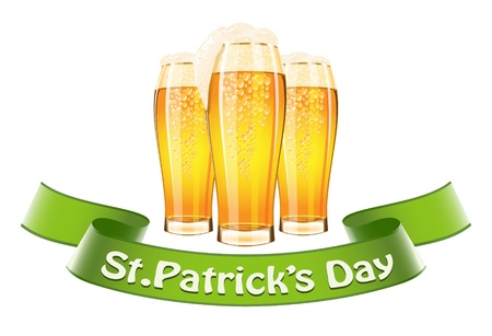 Saint Patrick's Day banner Stock Vector - 16884949