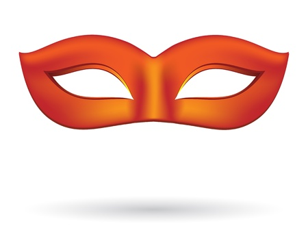 Carnival masks in red Stock Vector - 17481610