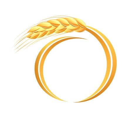 Wheat ears icon Stock Vector - 17708257