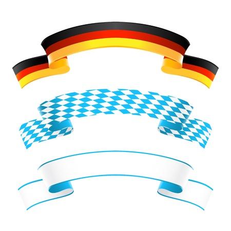 ドイツ、バイエルン州の旗