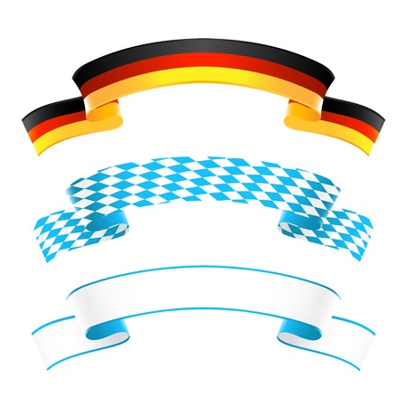 Germany and Bavaria banners Stock Vector - 21319682