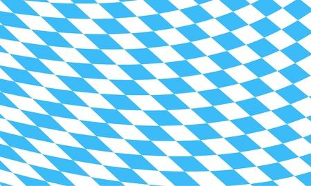 Bavaroise fond de drapeau