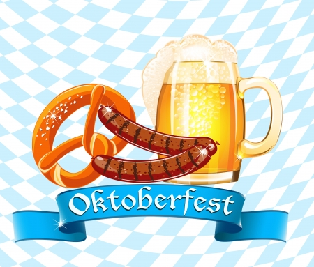 Oktoberfest celebration design Stock Vector - 21675166