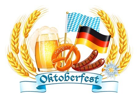 beer festival: Oktoberfest celebration design