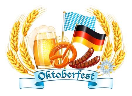 Oktoberfest conception de célébration Banque d'images - 21958210