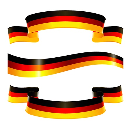 national colors: Banners of german national colors